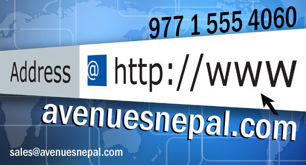 AvenuesNepal.com: for Web design and Online Web Marketing Services
