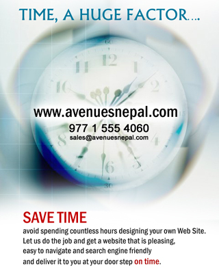 Offshore Web Design Development Company - AvenuesNepal.com
