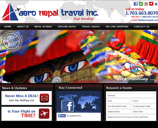 Aero Nepal Travel Inc