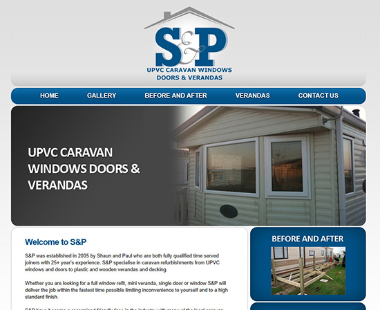 S & P Caravan windows
