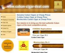 Cuban Cigar Deal