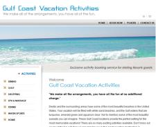 Gulf Coast Vacation Activities