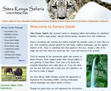Sites Kenya Safaris